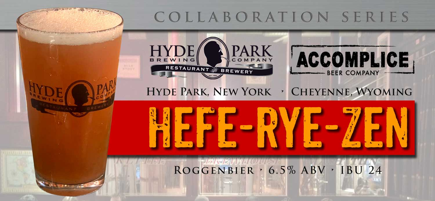 Collaboration Beer - Hefe-Rye-Zen!