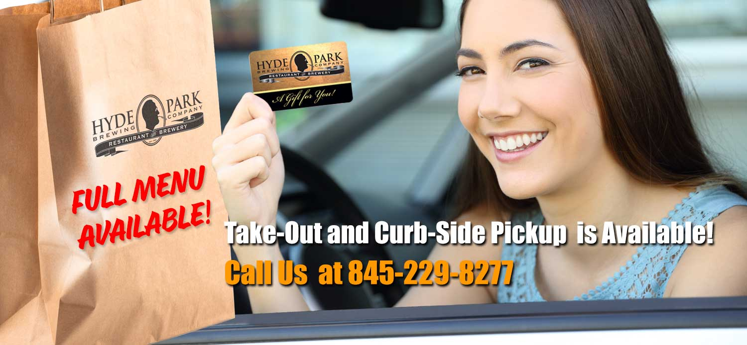 Call us for Takeout or Curbside Pickup! 845-229-8277